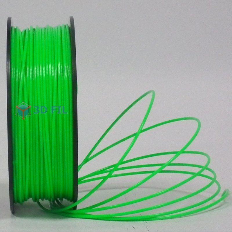 Bobine 1kg ABS Vert clair - 3mm