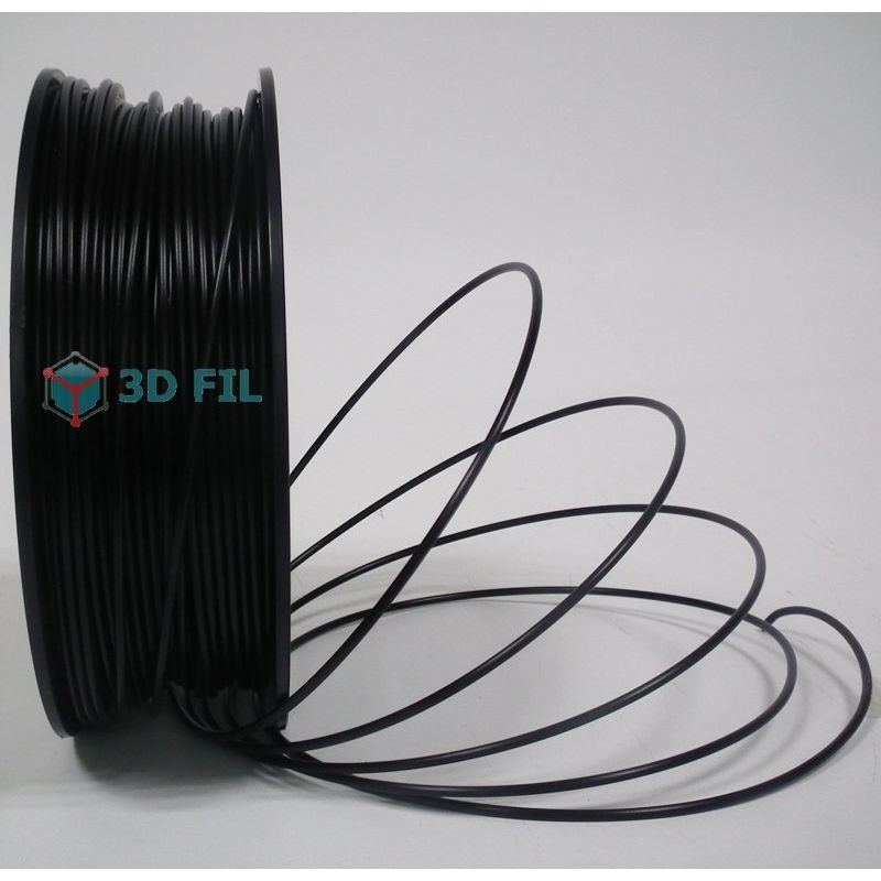 Bobine 0.5kg Flexible Noir (3mm)