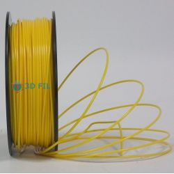 Bobine 0.5kg Flexible Jaune Foncé - 3mm