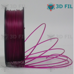Bobine 1kg PLA Transparent Violet - 1.75mm