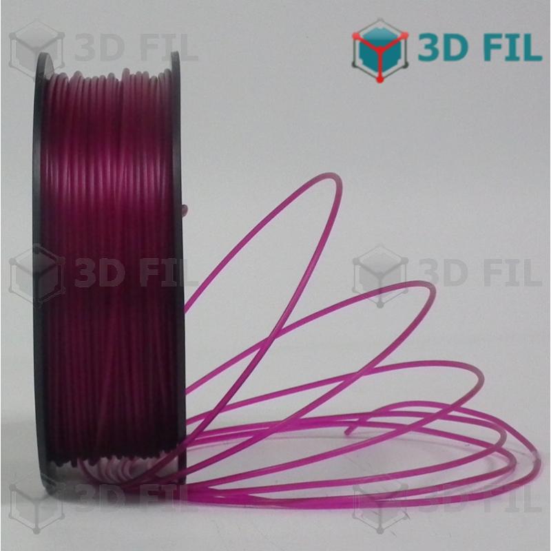 Bobine 1kg PLA Violet transparent - 1.75mm