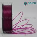 Bobine 1kg PLA Transparent Violet - 1.75mm