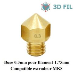 Buse laiton 0.3mm / MK7 MK8