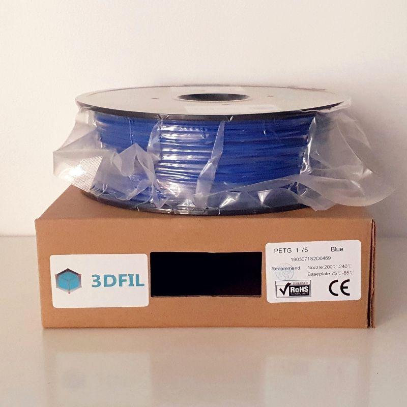 Bobine 1kg PETG Bleu - 1.75mm