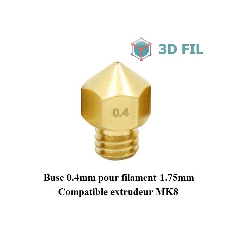 Buse laiton 0.4mm / MK7 MK8