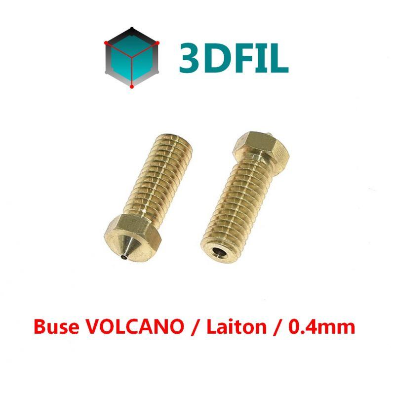 Buse laiton 0.4mm / VOLCANO