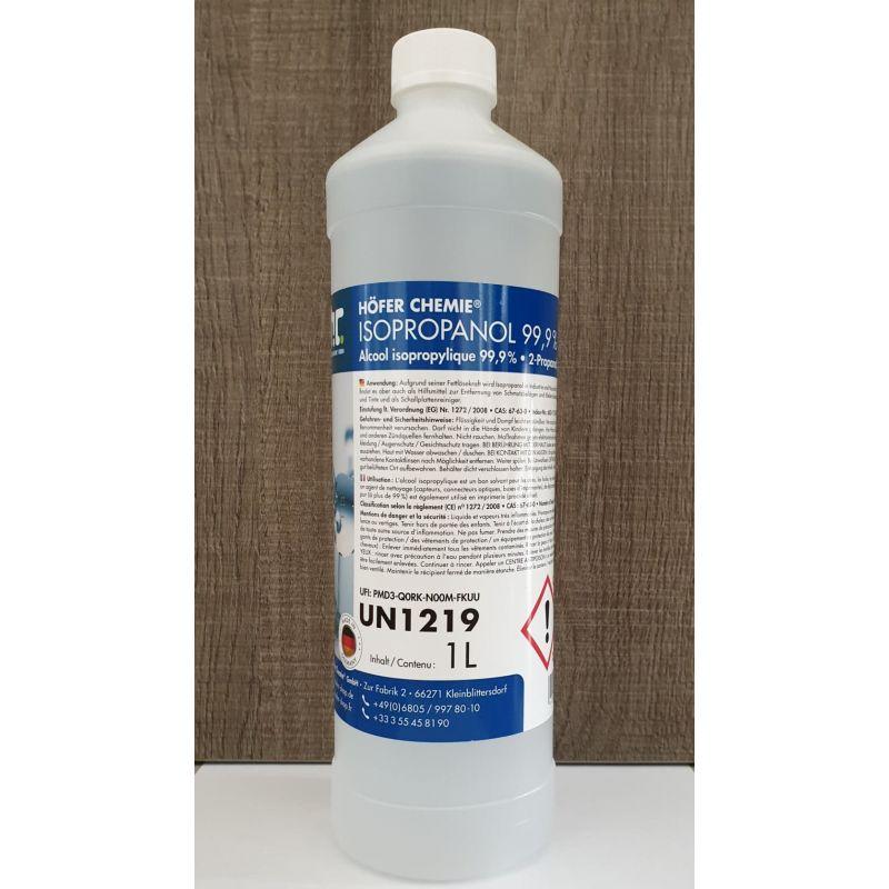 Alcool Isopropylique 99,9% - Höfer Chemie - Solvant et dégraissant