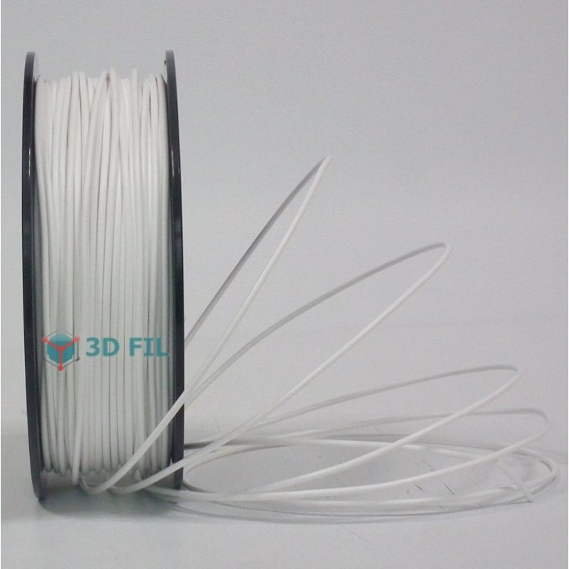 Bobine 1kg ABS Blanc - 3mm