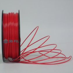Bobine 0.5kg Flexible Rouge - 1,75mm