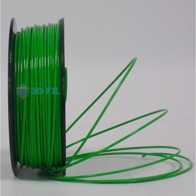Bobine 0.5kg Flexible Vert Foncé - 1,75mm