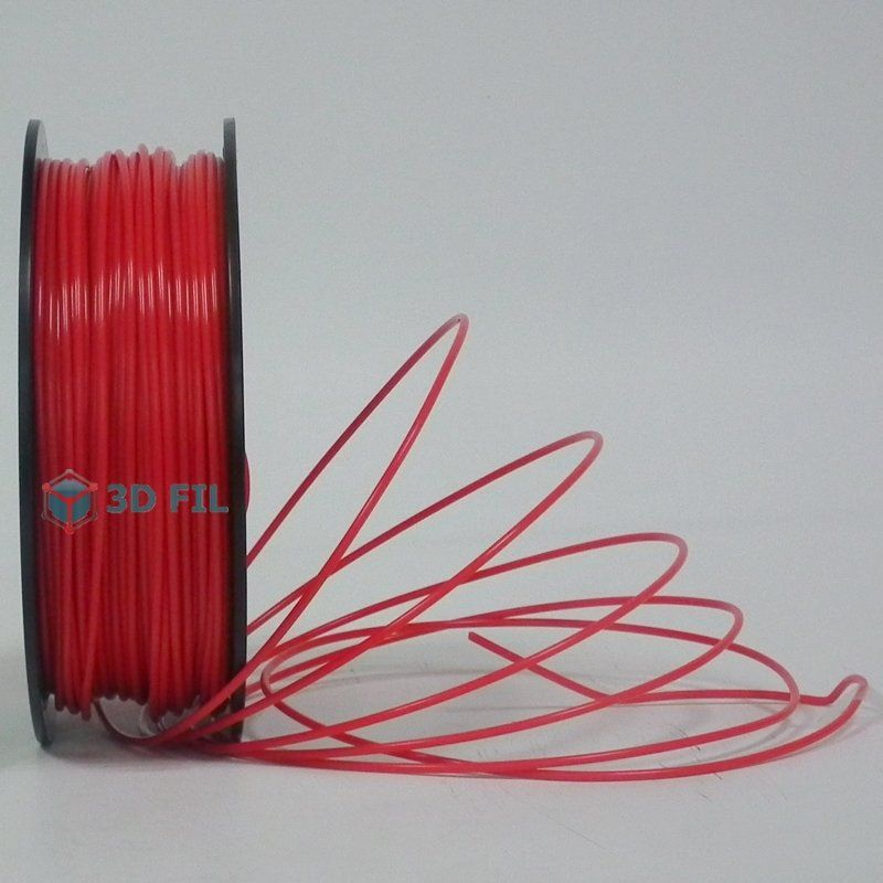 Bobine 0.5kg Flexible Rouge (3mm)
