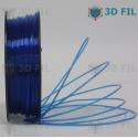 Bobine 1kg PLA Transparent Bleu - 1.75mm