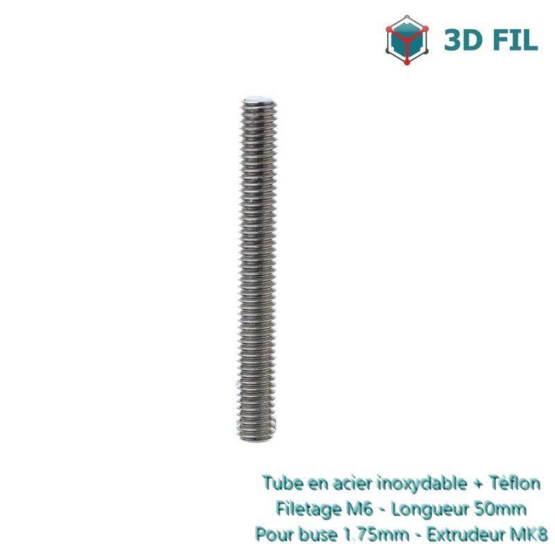 Heat Break PTFE pour tête MK8 / 1.75mm
