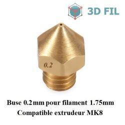 Buse laiton 0.2mm / MK7 MK8