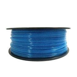 Bobine 0.5kg PLA Bleu transparent pailleté - 1.75mm