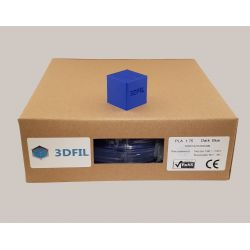 Bobine 1kg PLA Bleu Foncé - 1.75mm