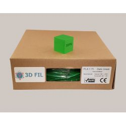 Bobine 1kg PLA Vert foncé - 1.75mm
