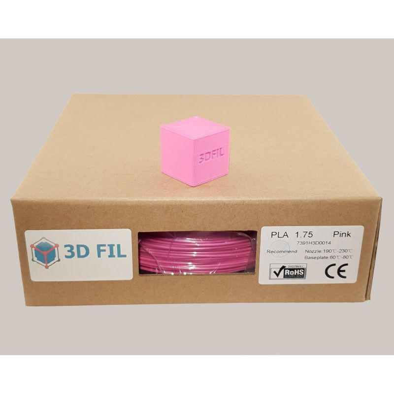 Bobine 1kg PLA Rose - 1.75mm