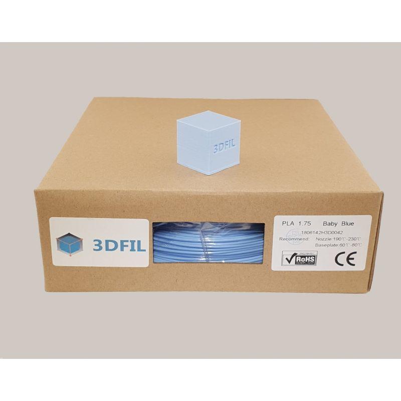 Bobine 1kg PLA Bleu Pâle- 1.75mm