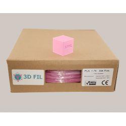 Bobine 1kg PLA Rose (effet soie) - 1.75mm