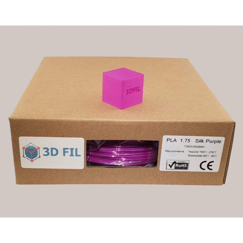 Bobine 1kg PLA Violet (effet soie) - 1.75mm