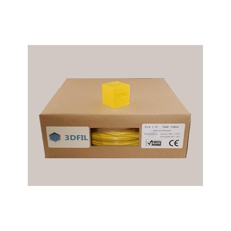 Bobine 1kg PLA Jaune foncé - 1.75mm