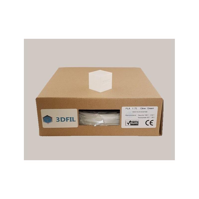 Bobine 0.5kg PLA Phosphorescent Vert - 1.75mm