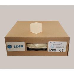 Bobine 0.5kg PLA Ivoire - 1.75mm